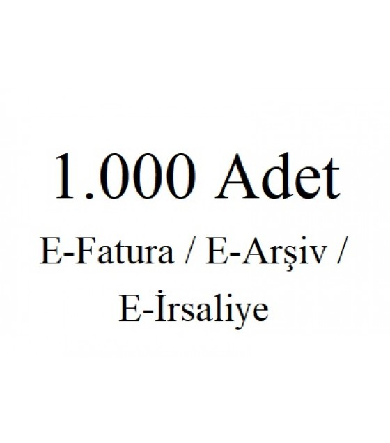1.000 Kontür