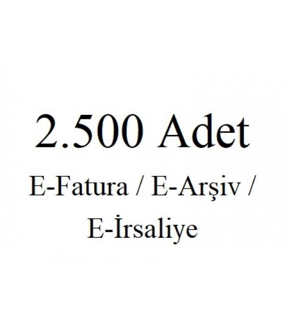 2.500 Kontür